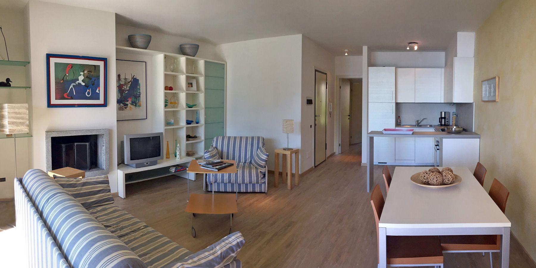 Wohnung mit Garten in Ghiffa  in Villa Ada