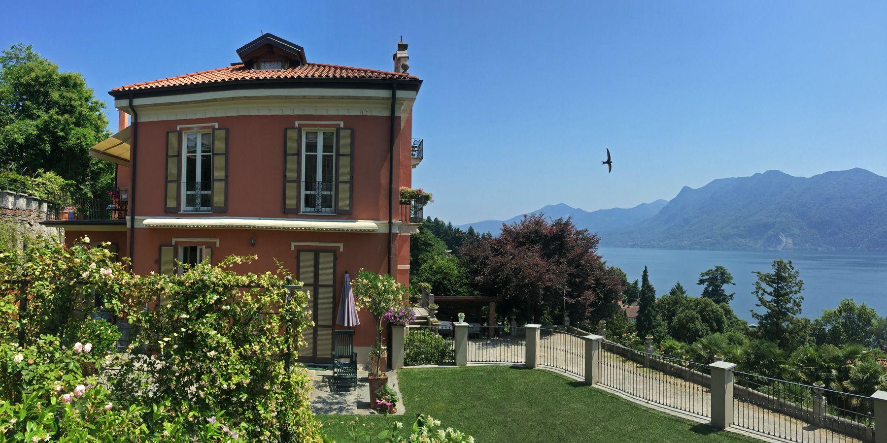 Wohnung Kaufen In Verbania Mit Seeblick In Alter Villa