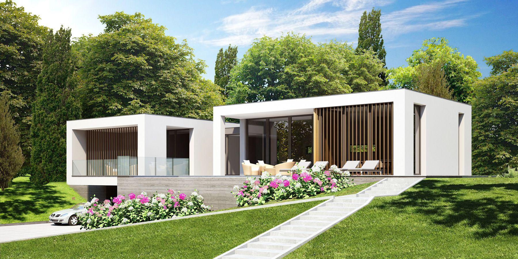 Moderne Neubau Villa Verbania